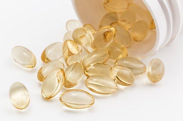 cápsulas de complementos alimenticios